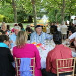 summer solstice dinner at raymond vineyards
